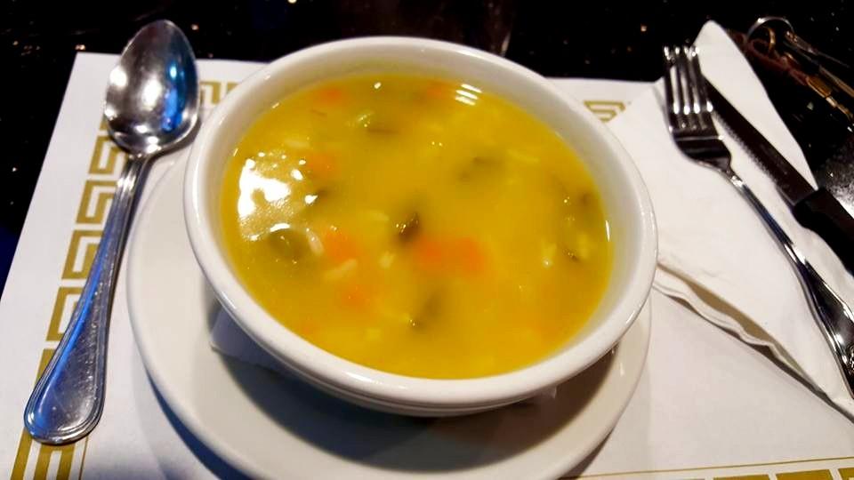 Sopa de alho frances