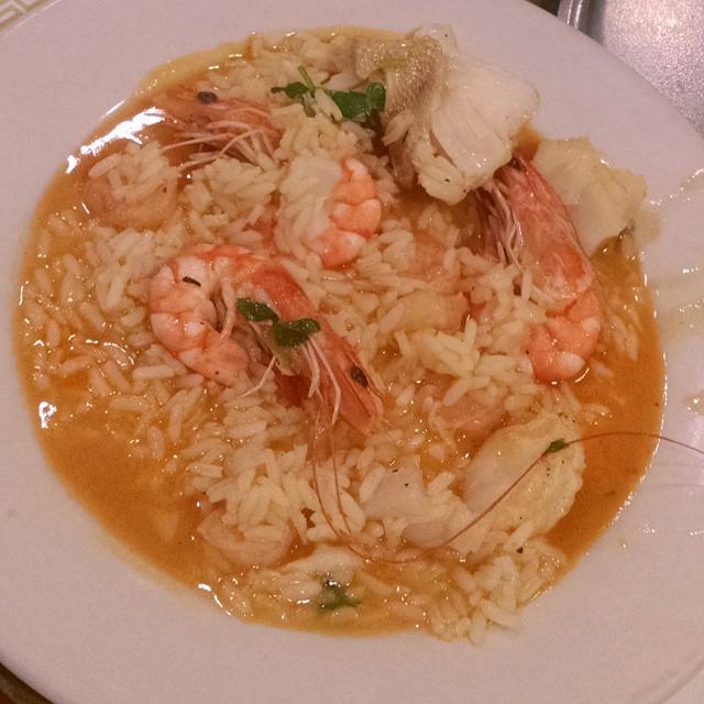 Arroz de peixe c marisco ; Fish in rice w seaffod